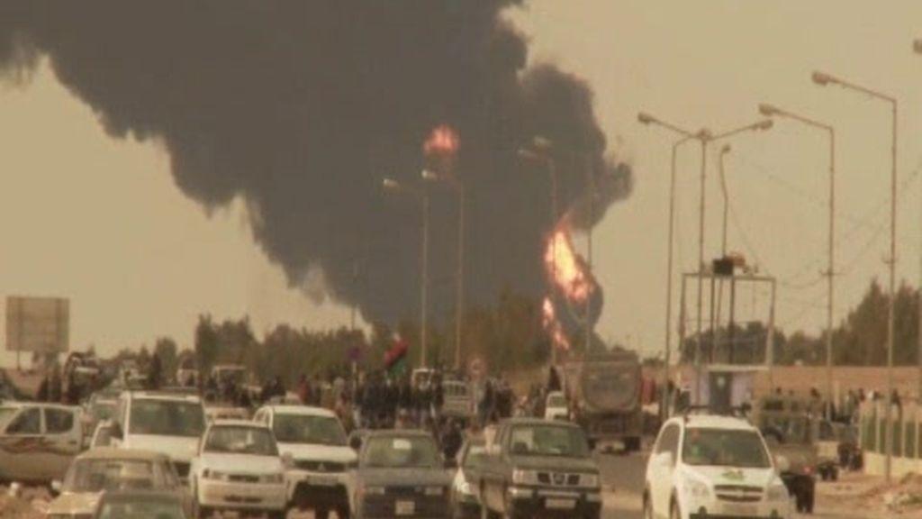 Resistencia numantina en Libia