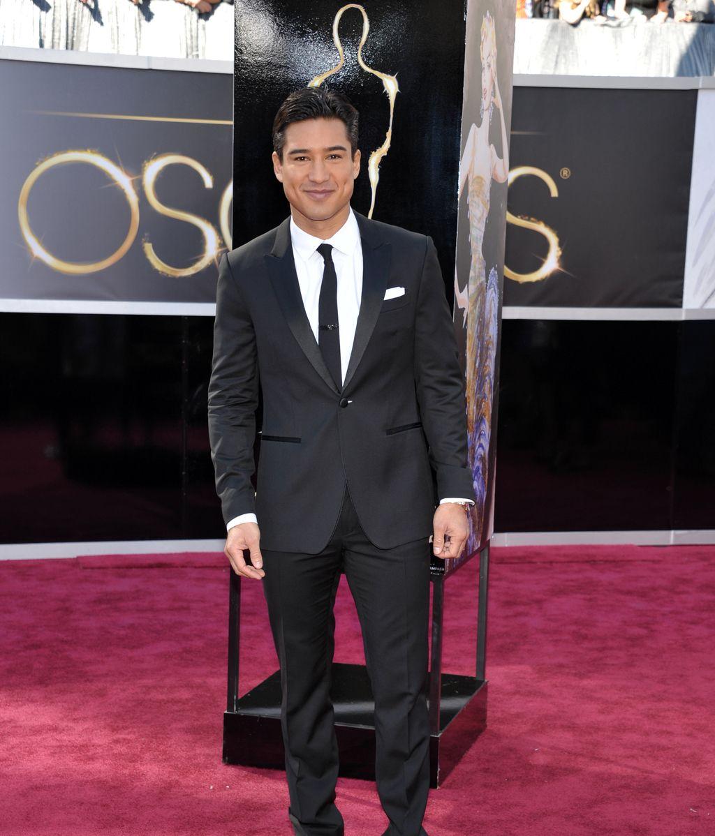 Mario Lopez, en la 85ª edición de los Oscar