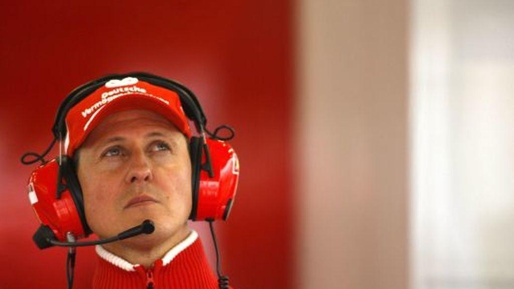 Schumacher no faltó a la cita