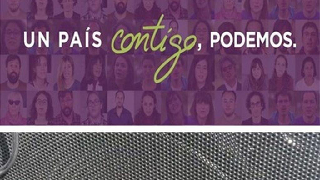 La caravana de Podemos en Melilla recibe el disparo de un perdigón