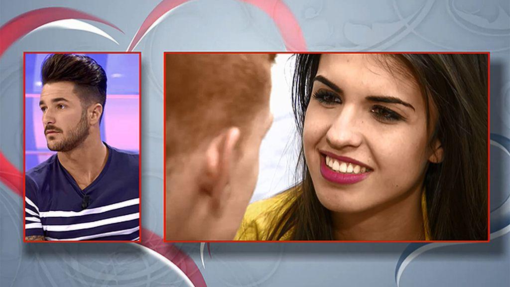 """Dani, a Sofía: """"No te voy a dar un beso"""""""