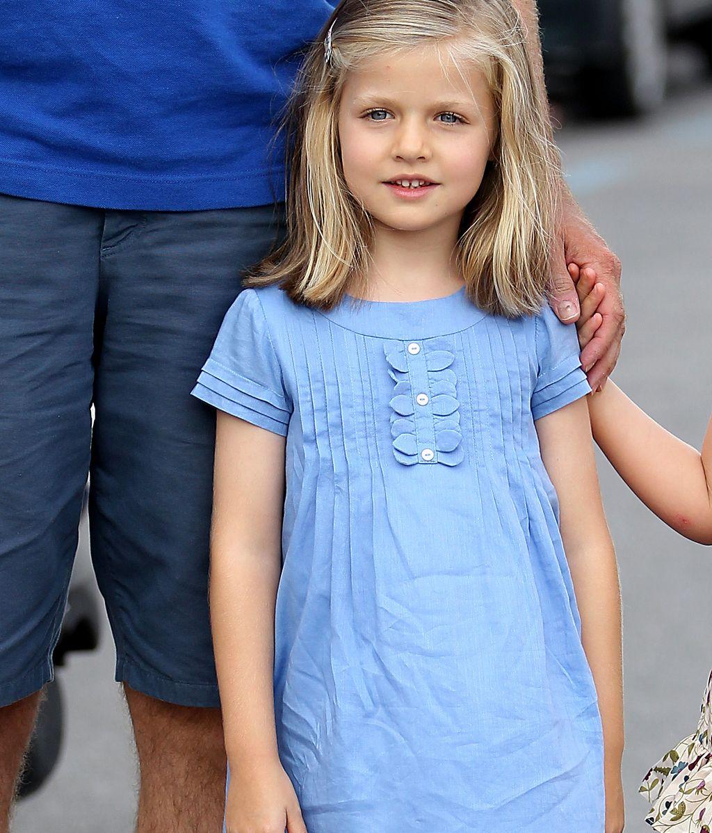 La infanta Leonor, hace cuatro días en Mallorca. Foto: Gtres