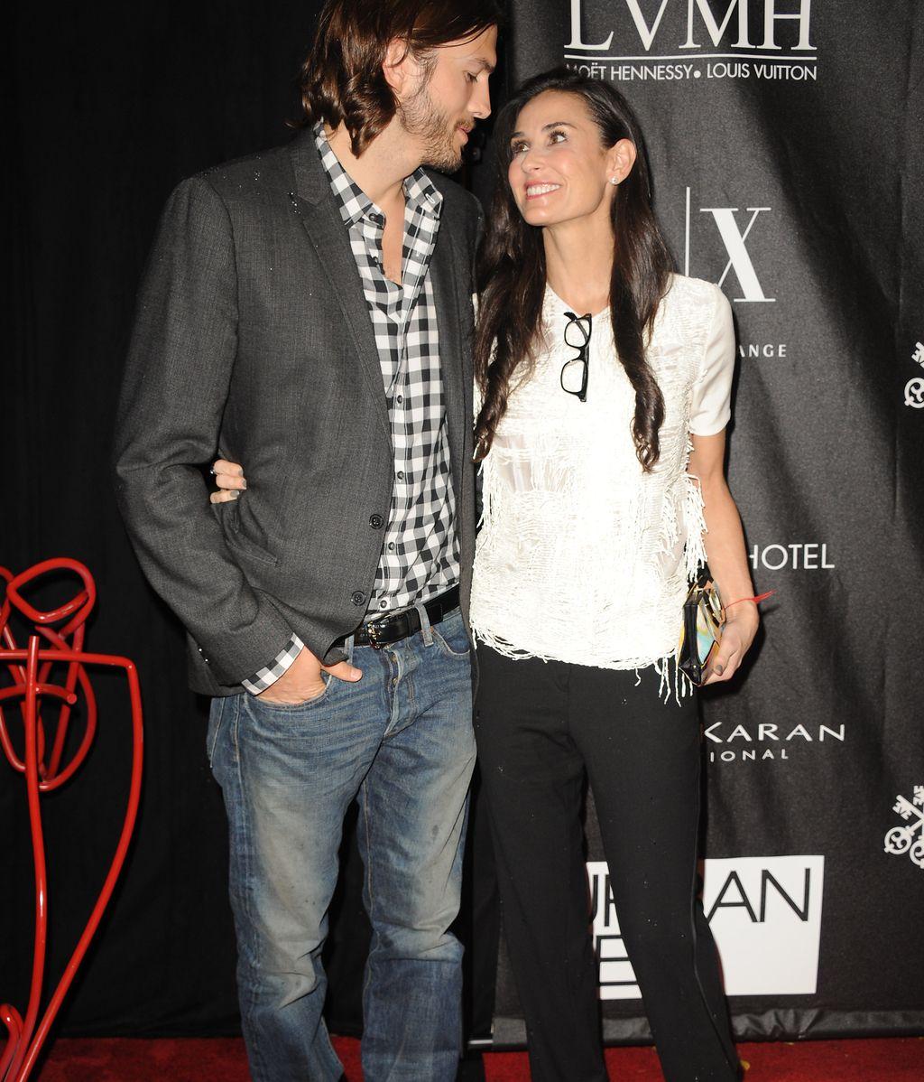 La pareja en una de sus últimas apariciones públicas en junio de 2011