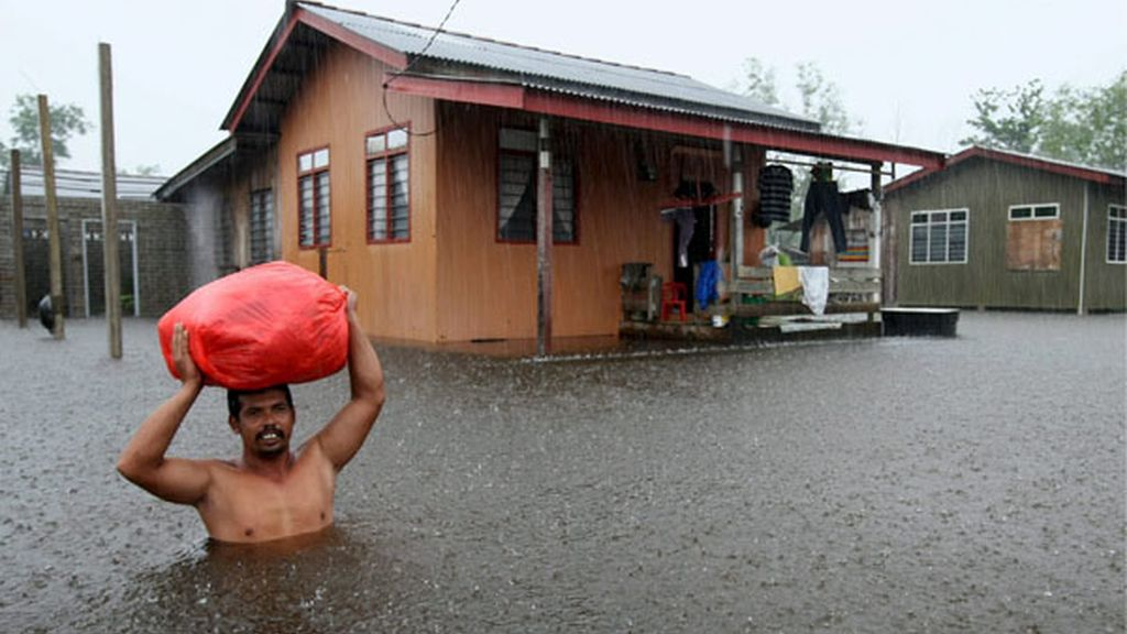Inundaciones en Malasia