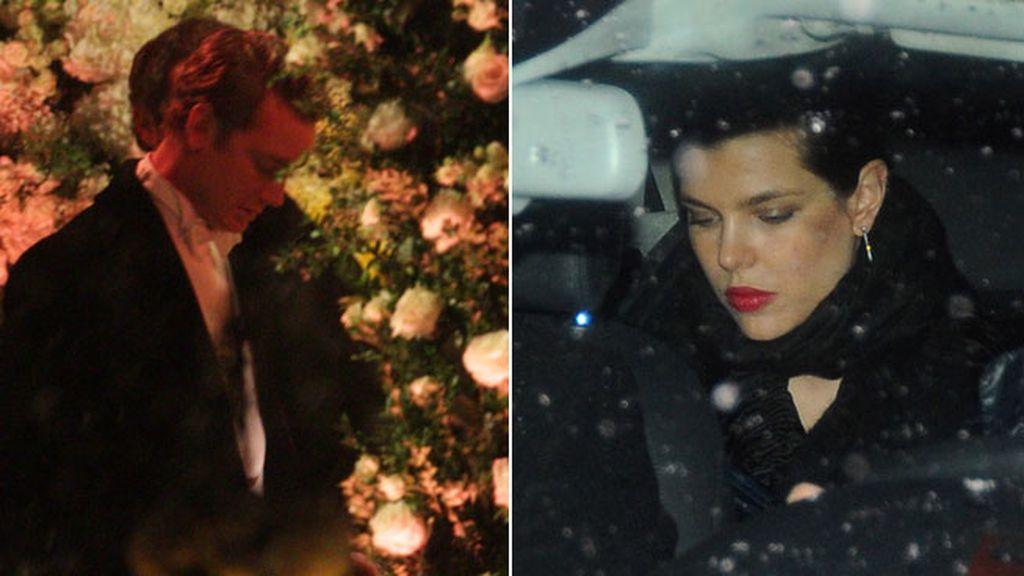 Carlota y Pierre Casiraghi estuvieron presentes en la boda de su hermano