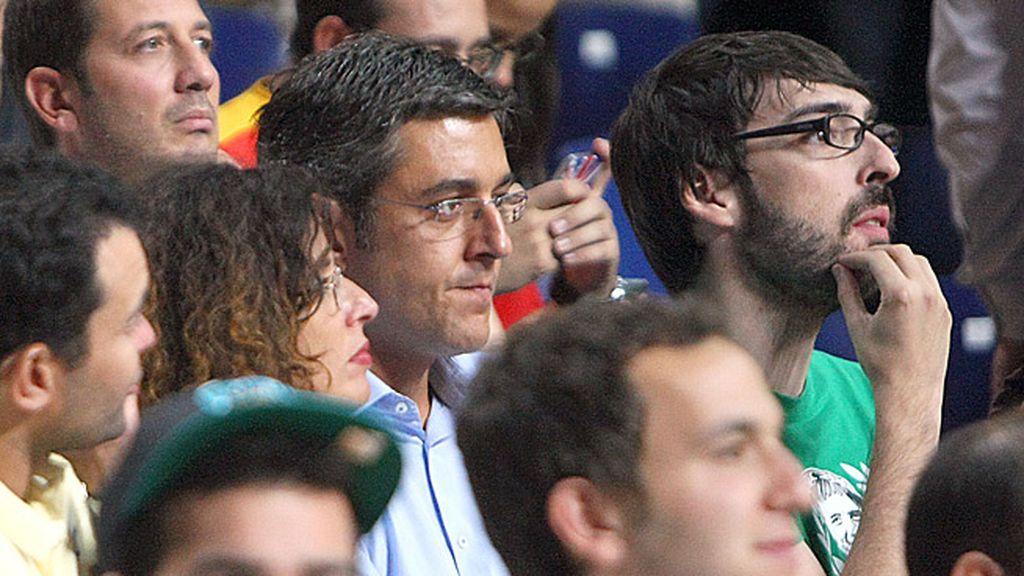 El ex secretario general del grupo del PSOE en el Congreso, Eduardo Madina