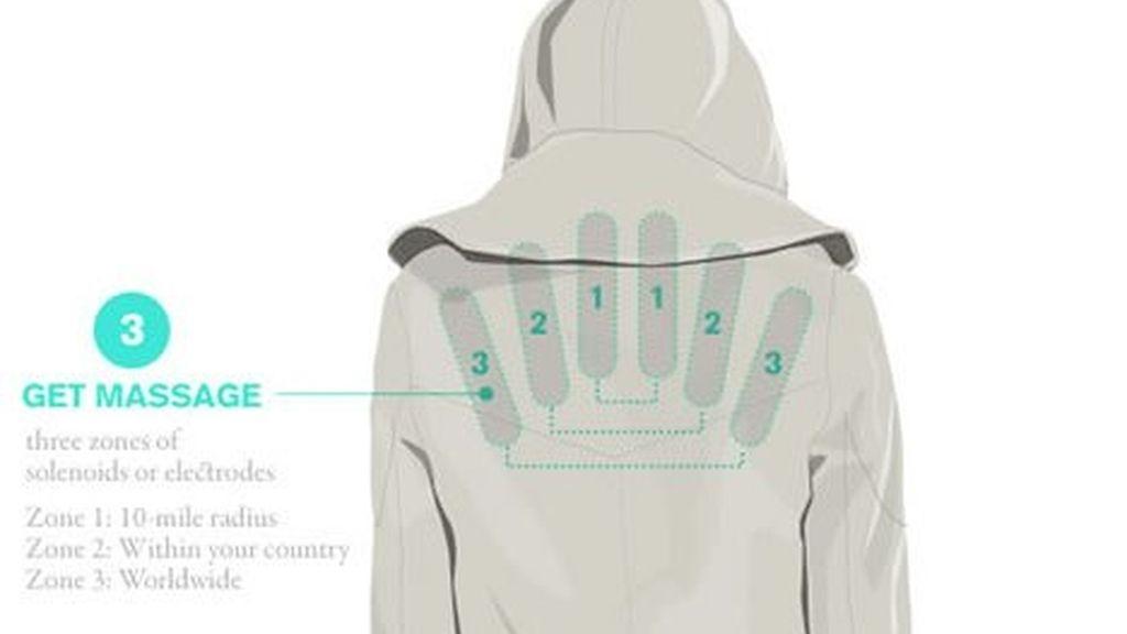 En tres o cuatro años se podrían encontrar en el mercado prendas de ropa interactiva que funcionen como sensores químicos.
