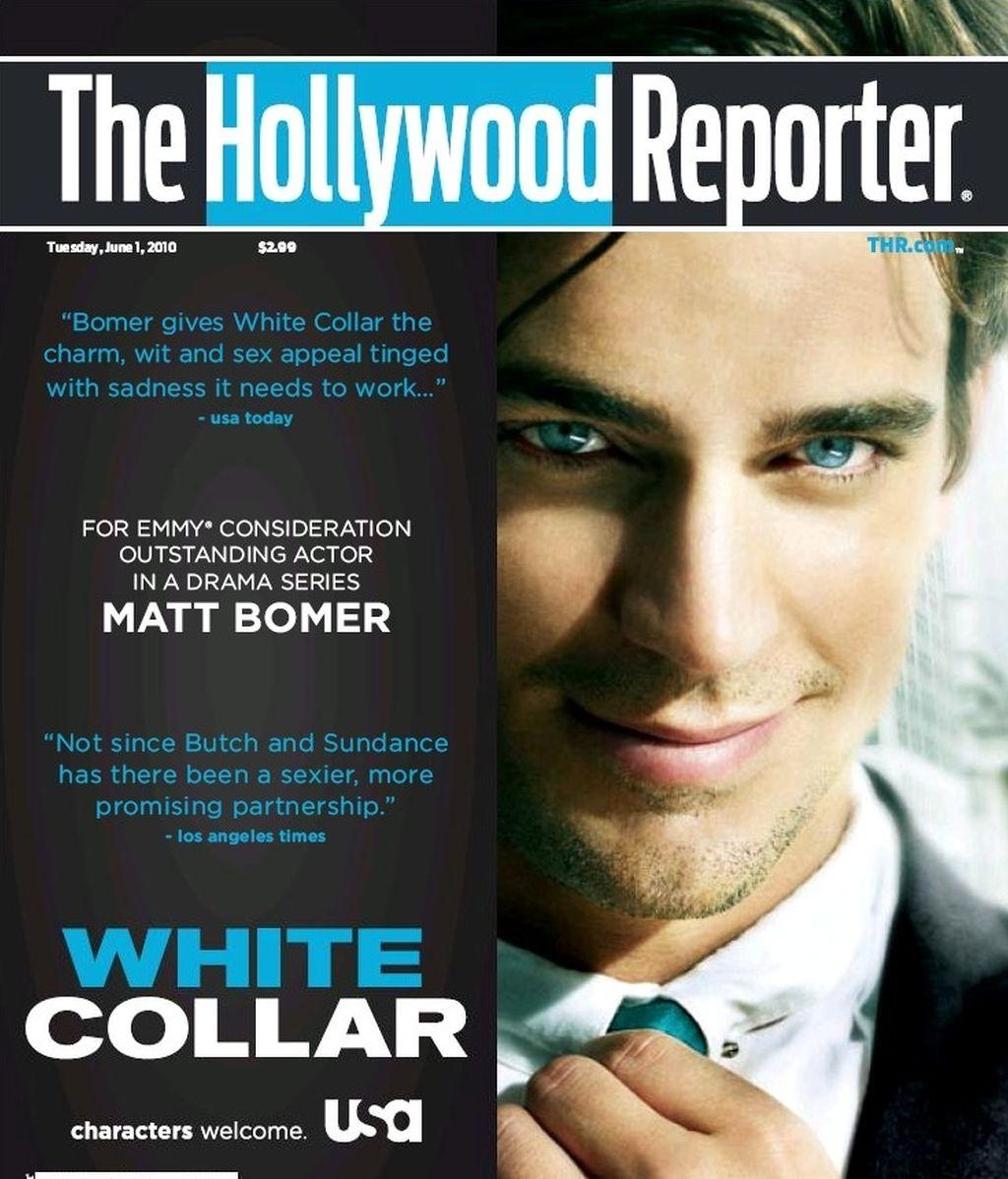 Matt Bomer, chico de portada