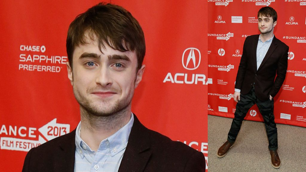 Daniel Radcliffe en la presentación de 'Kill Your Darlings'
