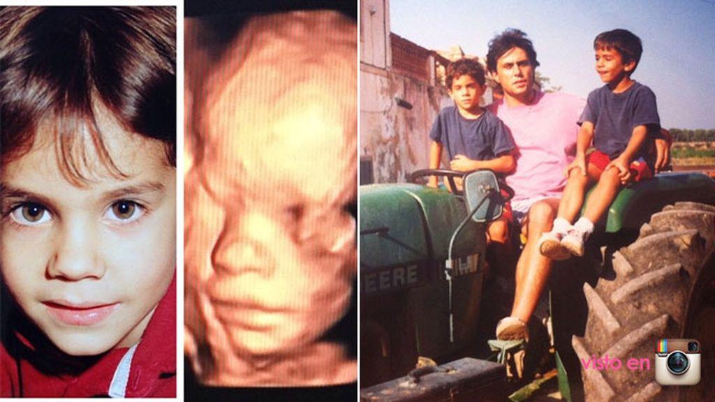La niña se parece a Bartra y él… ¡a su padre!