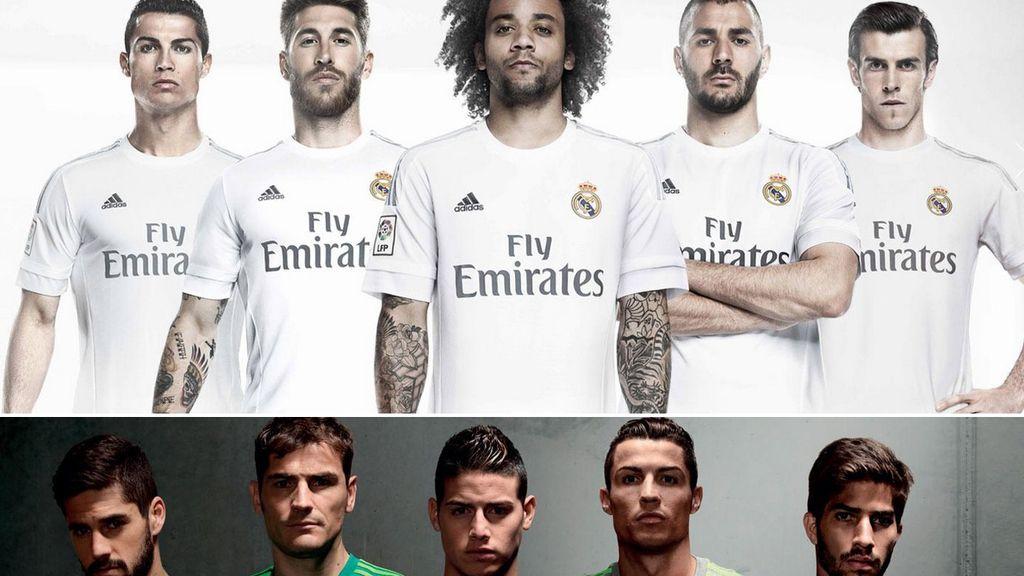 La nueva equipación del Real Madrid