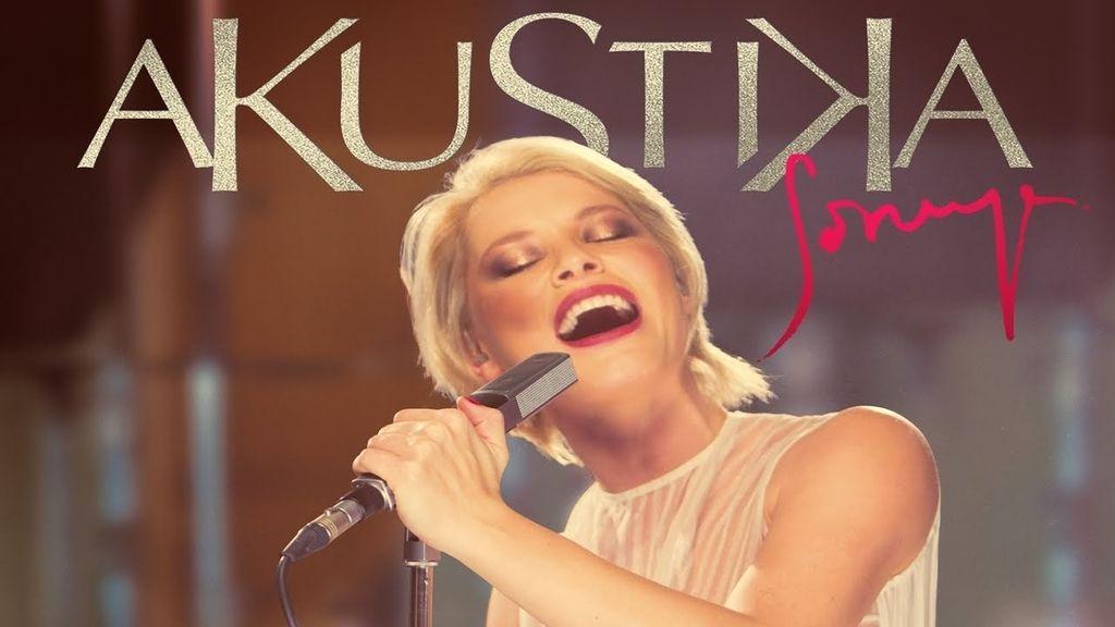 'Akustika' es el nuevo disco de Soraya