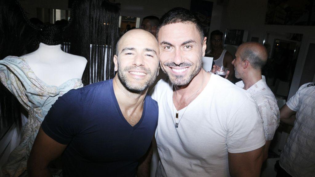 Roberto Cortés y Miguel Ángel Nicolás