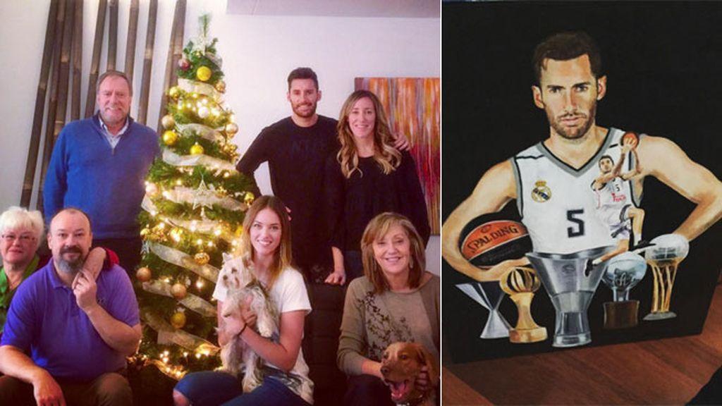 Pimeros Reyes juntos de los Fenández-Lindes, ¡con retrato de Rudy incluido!