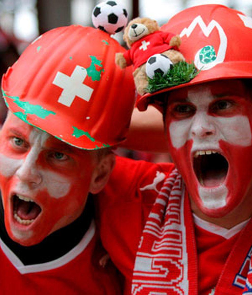 Comienza la fiesta del fútbol. Foto: EFE