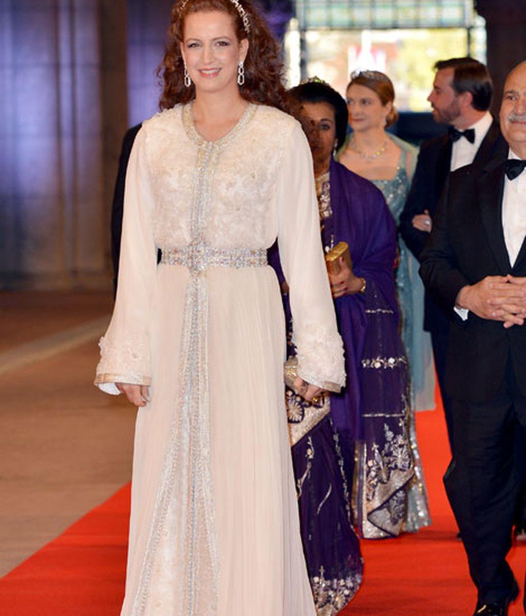 La princesa Lalla Salma de Marruecos