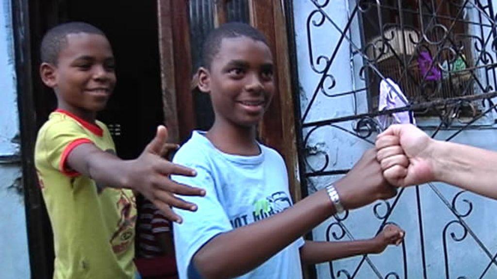 Saludo en la favela