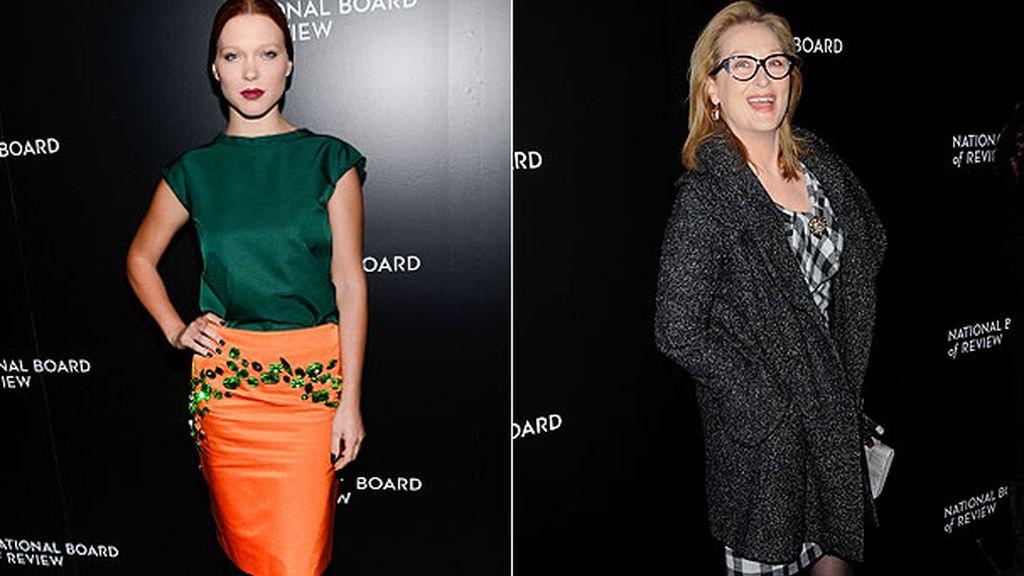 Lea Seydoux y Meryl Streep
