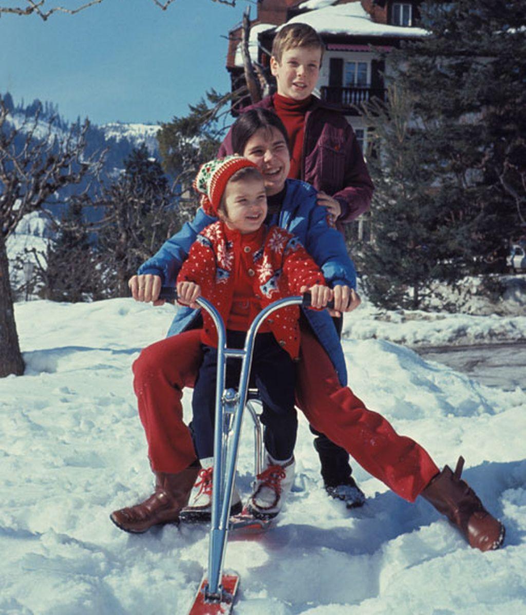 La infancia y juventud de Alberto de Mónaco