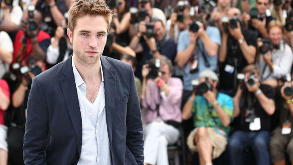 Robert Pattinson en la presentación de Cosmopolis