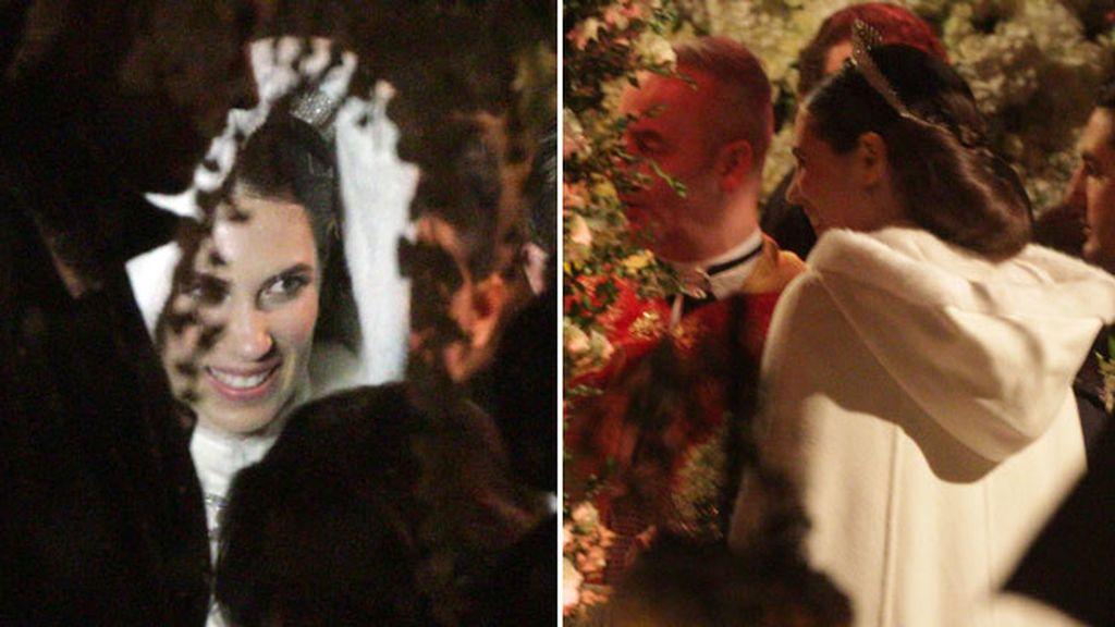 Tatiana Casiraghi, vestida de Valentino y con tiaria de Cartier