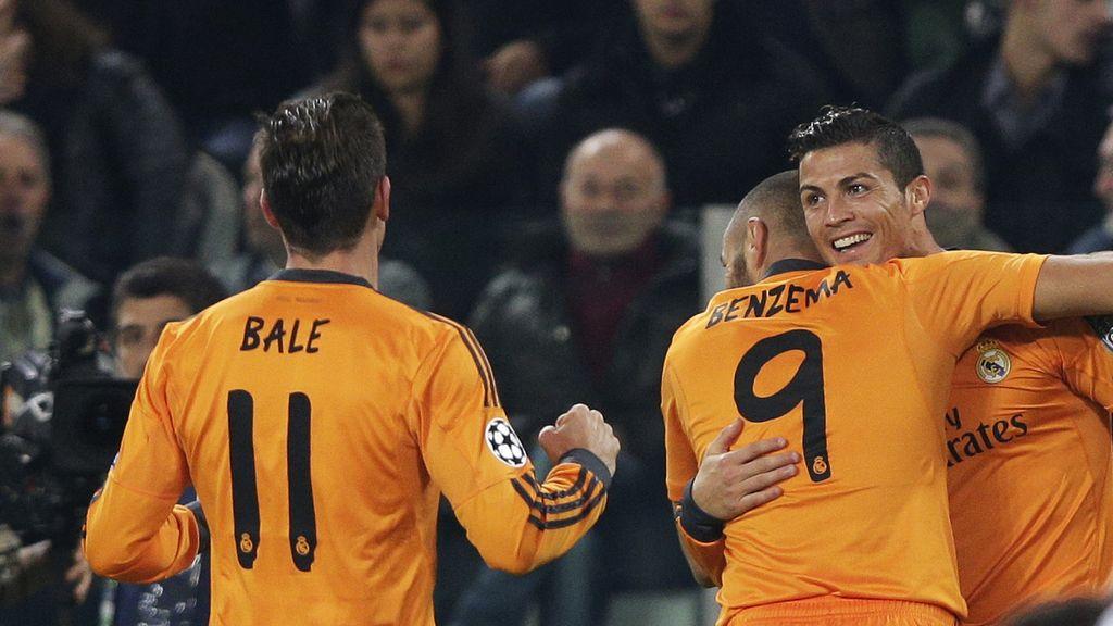 Cristiano Ronaldo, Bale y Benzema