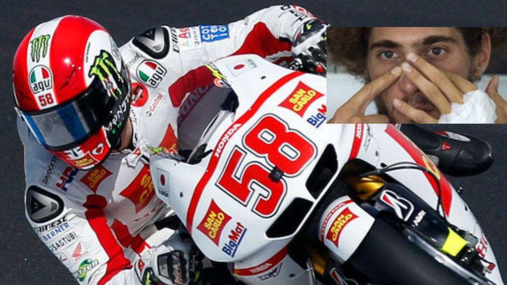 El piloto Marco Simoncelli