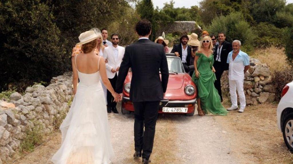 María Adánez y su boda a la menorquina