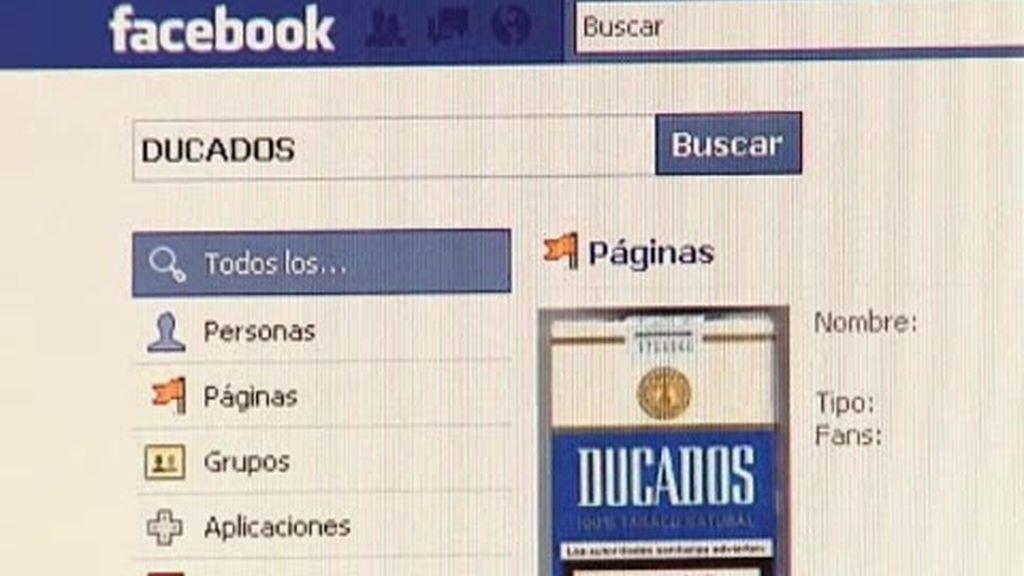 Tabaco en Facebook