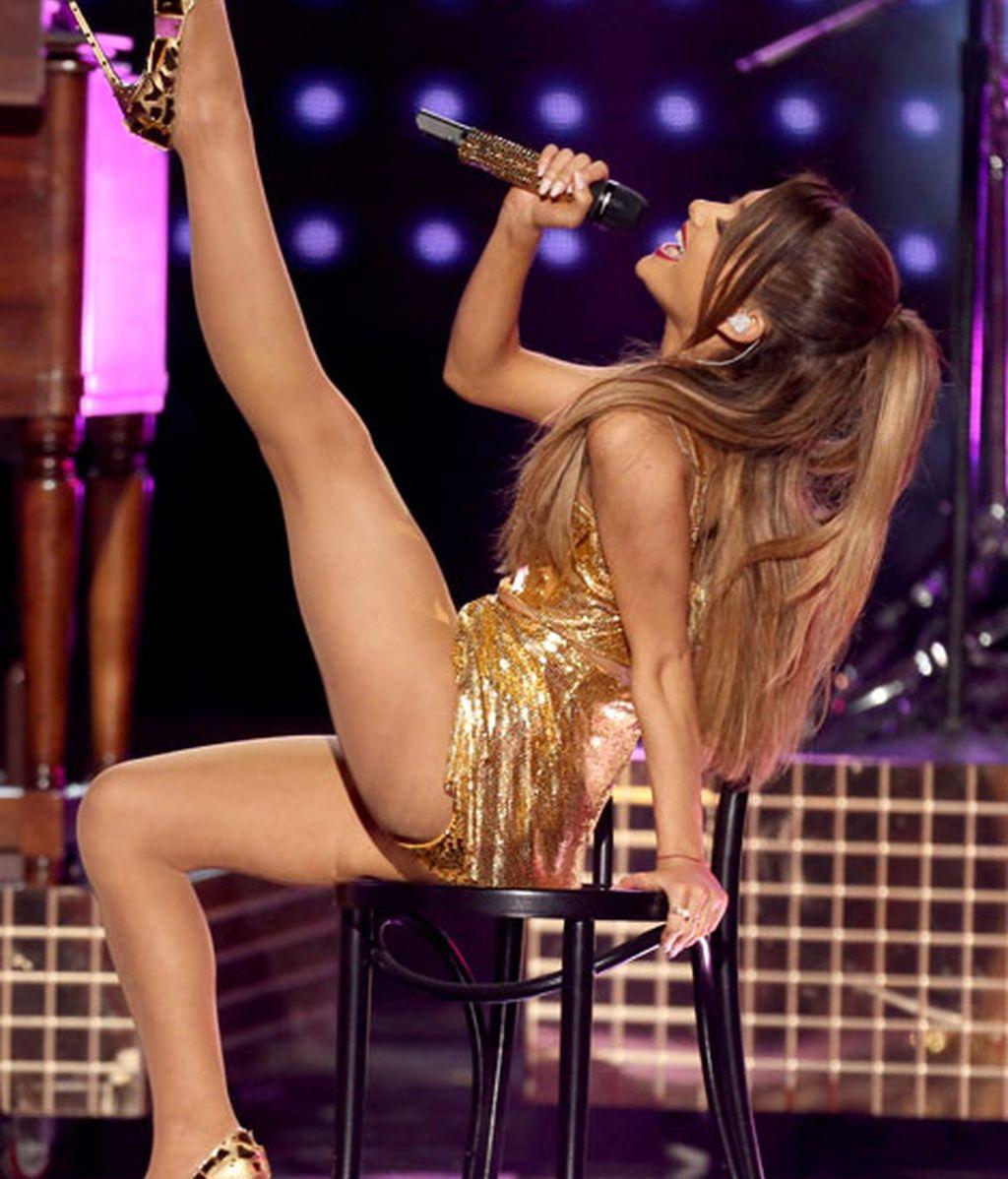 Ariana Grande interpretó varios de sus temas