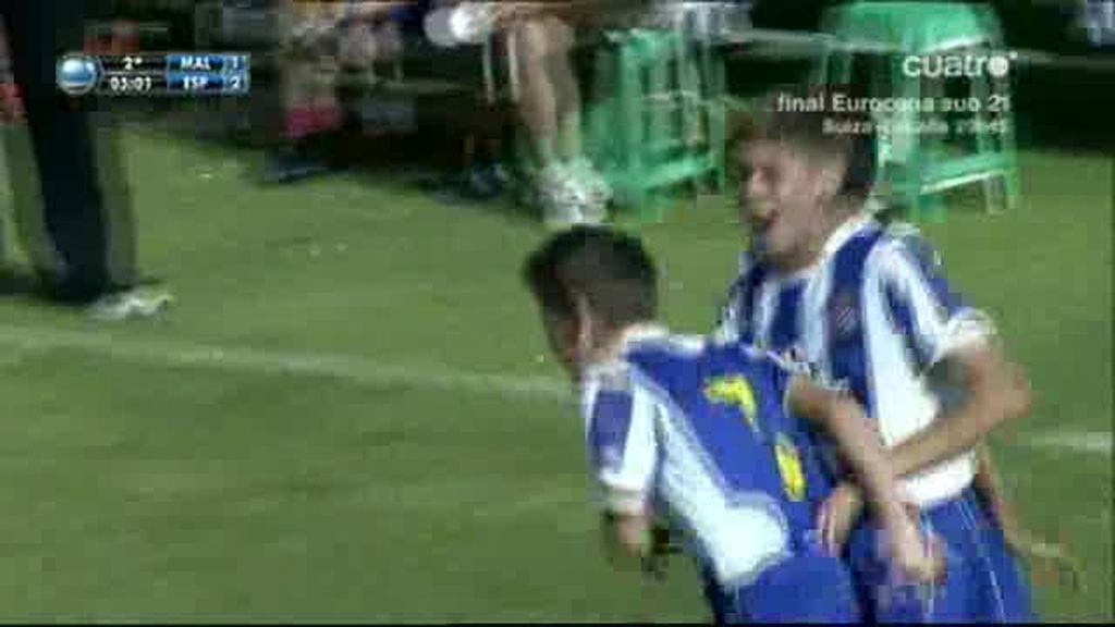 Arnau Marín dio el pase al Espanyol