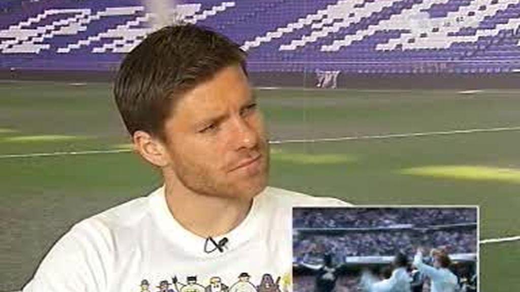 Xabi Alonso,confiado en la derrota del Barça frente al Sevilla