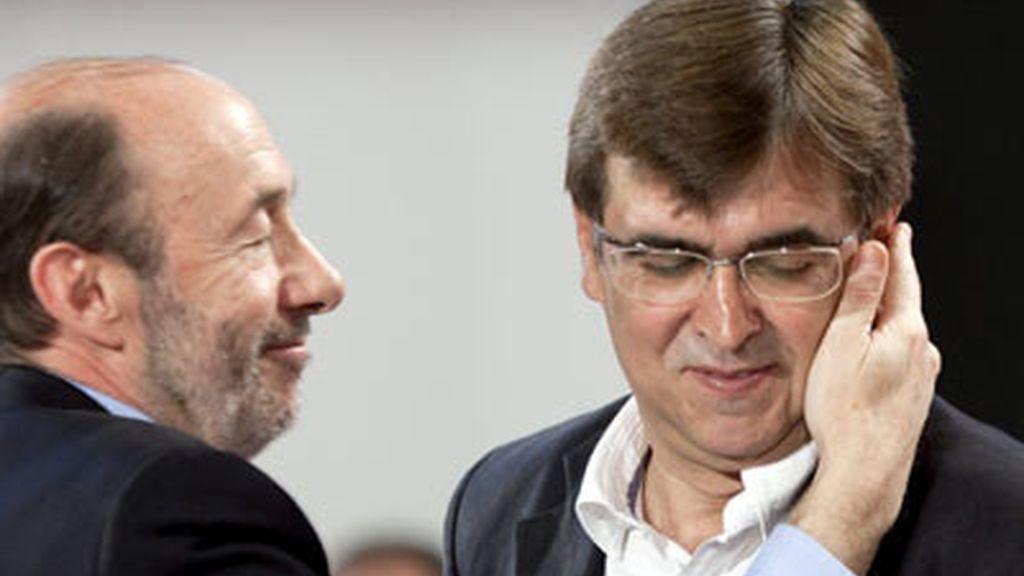 Alfredo Pérez Rubalcaba en Mallorca