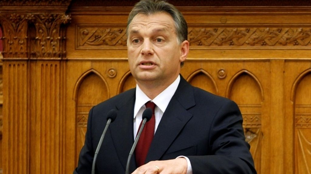 El Primer ministro de Hungría, Vicktor Orban