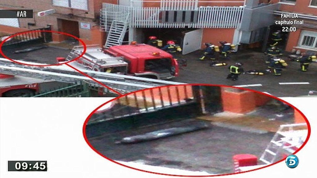 Las imágenes de la clínica La Milagrosa tras las dos explosiones