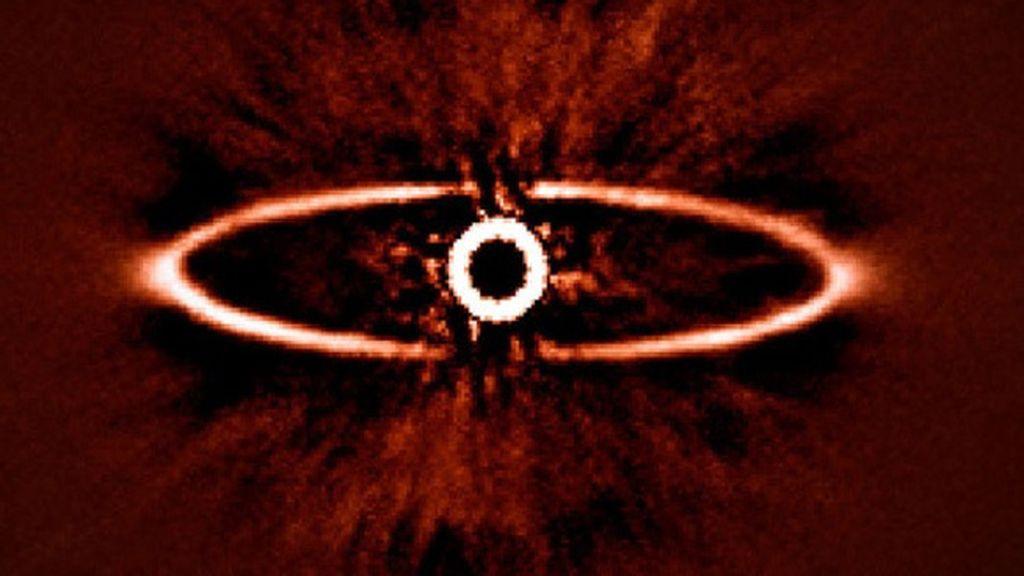El 'Ojo de Sauron', cazado en el espacio