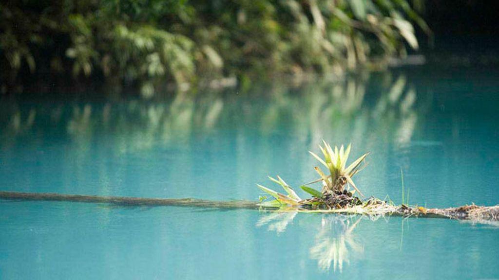 Este río de Costa Rica tiene una sorprendente tonalidad por la 'dispersión de Mie'