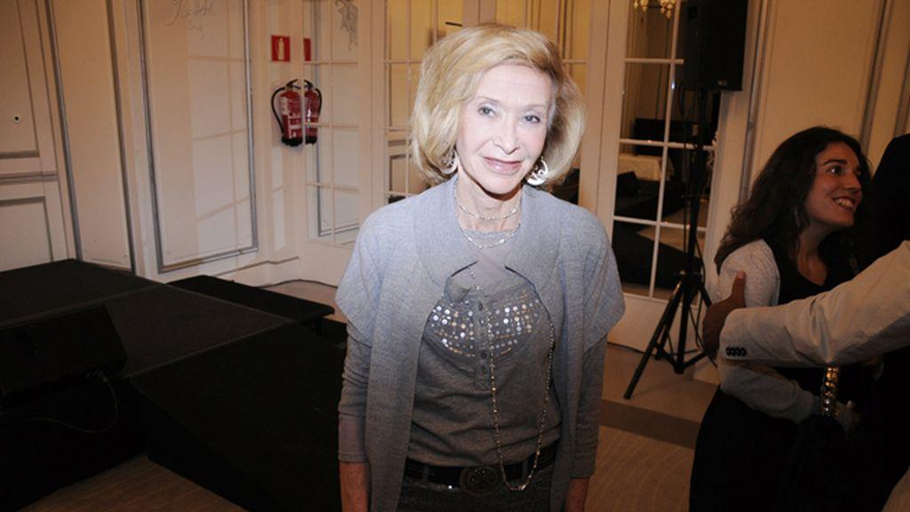 María Teresa Fernández de la Vega fue la encargada de cerrar la entrega de premios