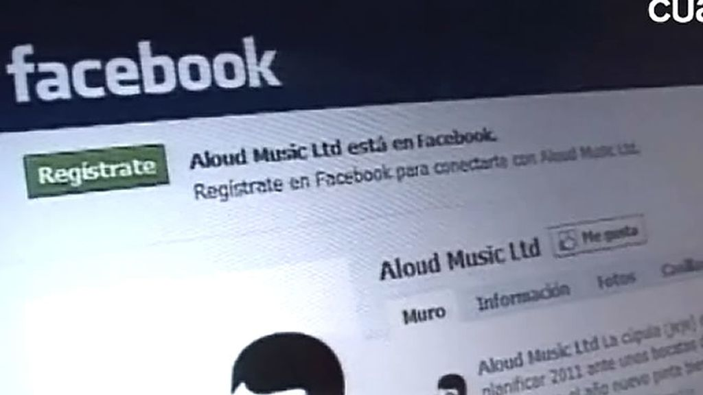Perfil de facebook de un sello independiente