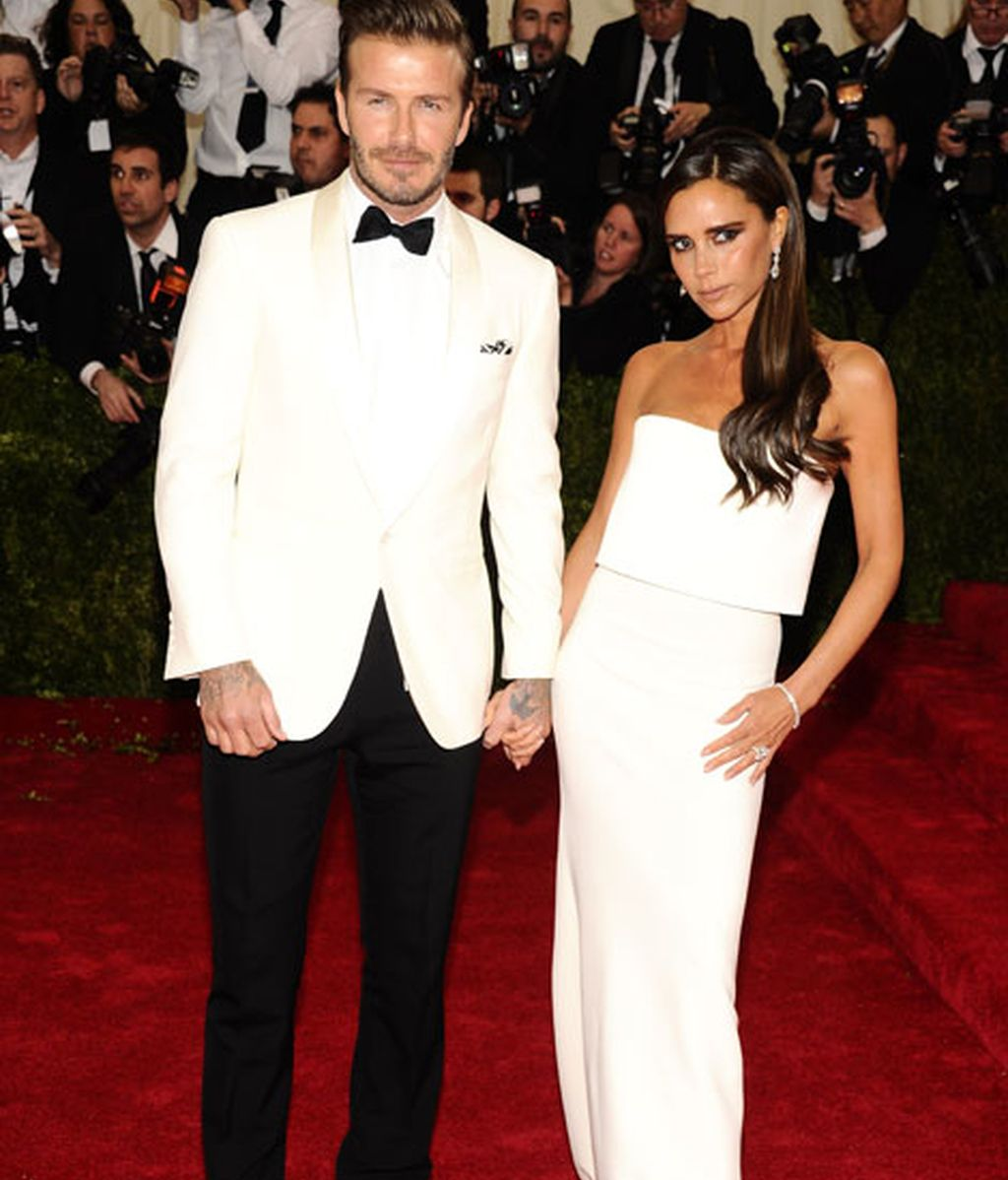 David Beckham de Ralph Lauren y Victoria de su propia firma
