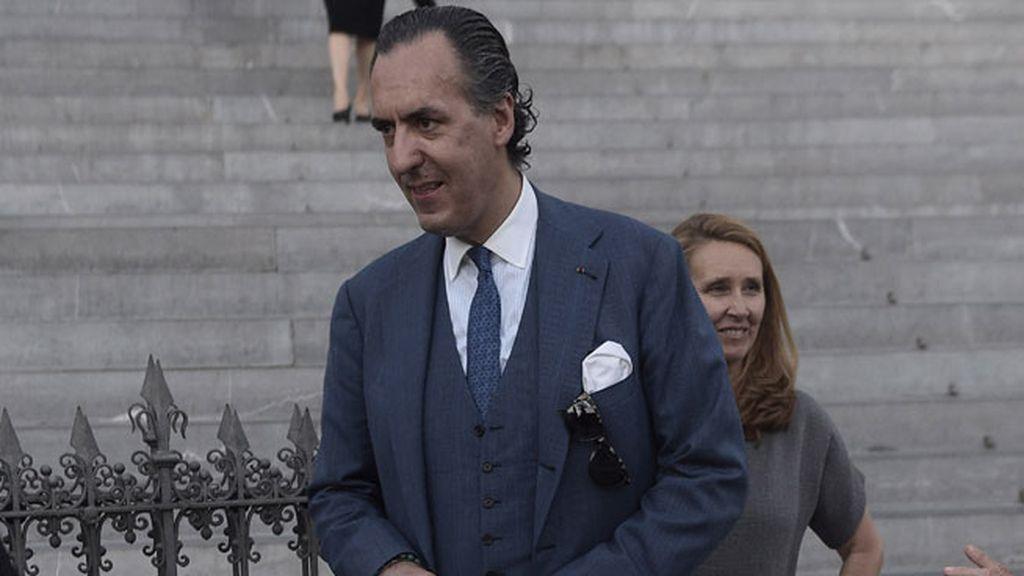 Jaime de Marichalar también estuvo presente en el funeral