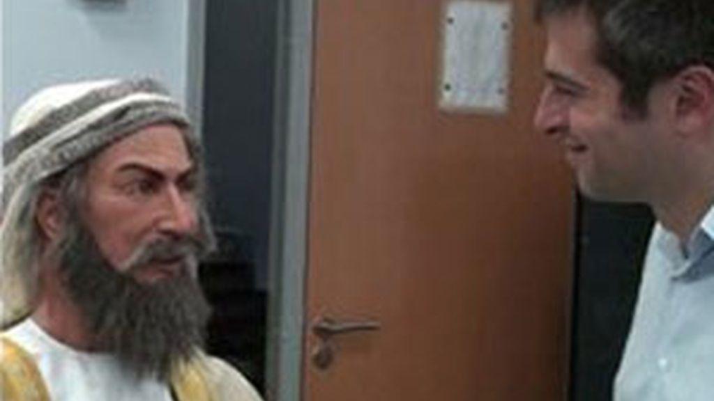 El robot Ibn Sina que muy pronto tendrá su perfil en Facebook. Foto BBC.co.uk
