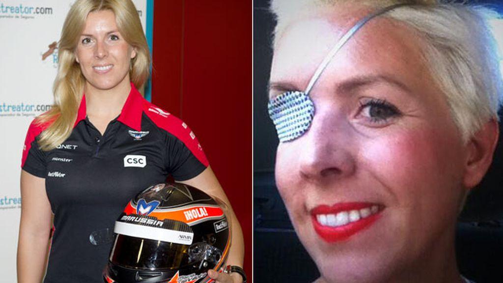 María de Villota, ex piloto de Fórmula 1