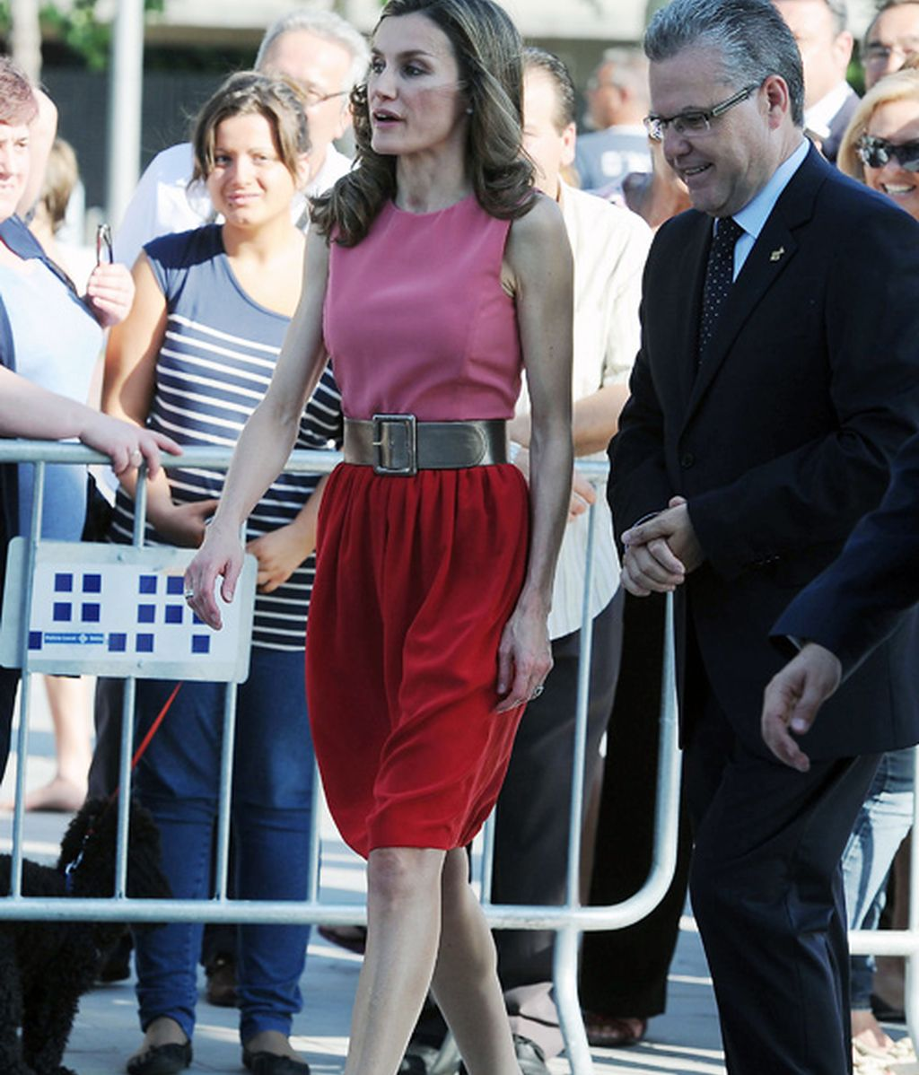 Letizia ya reina en color block