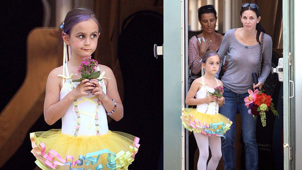 Coco Arquette, a clases de danza