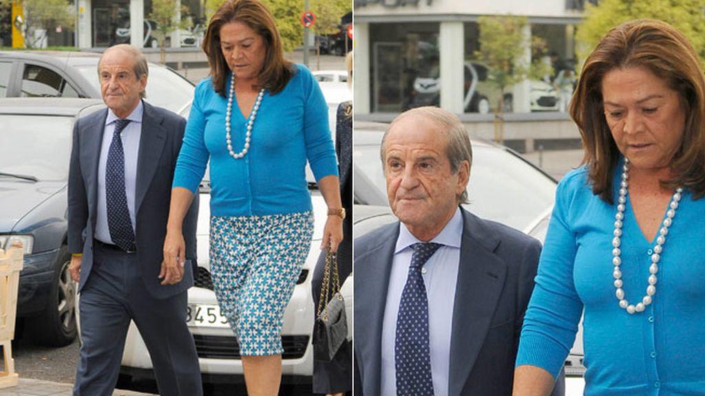 Jose María García, y su esposa, Monserrat Fraile