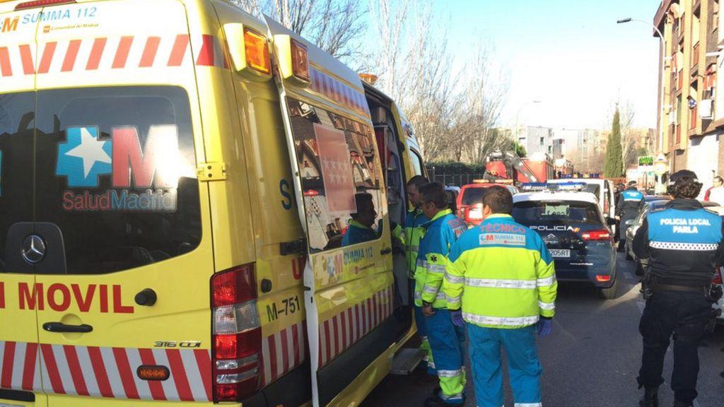 Un camión atropella a un bebé en Parla