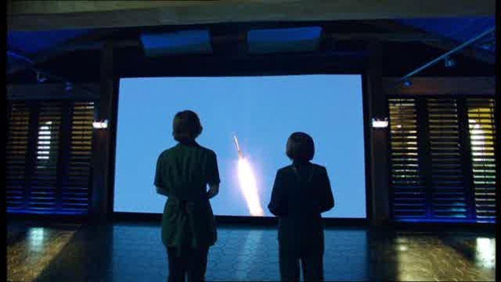 El cohete explota inesperadamente