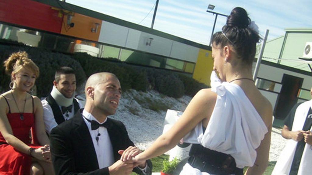 Aroa y Airam: momentazo boda