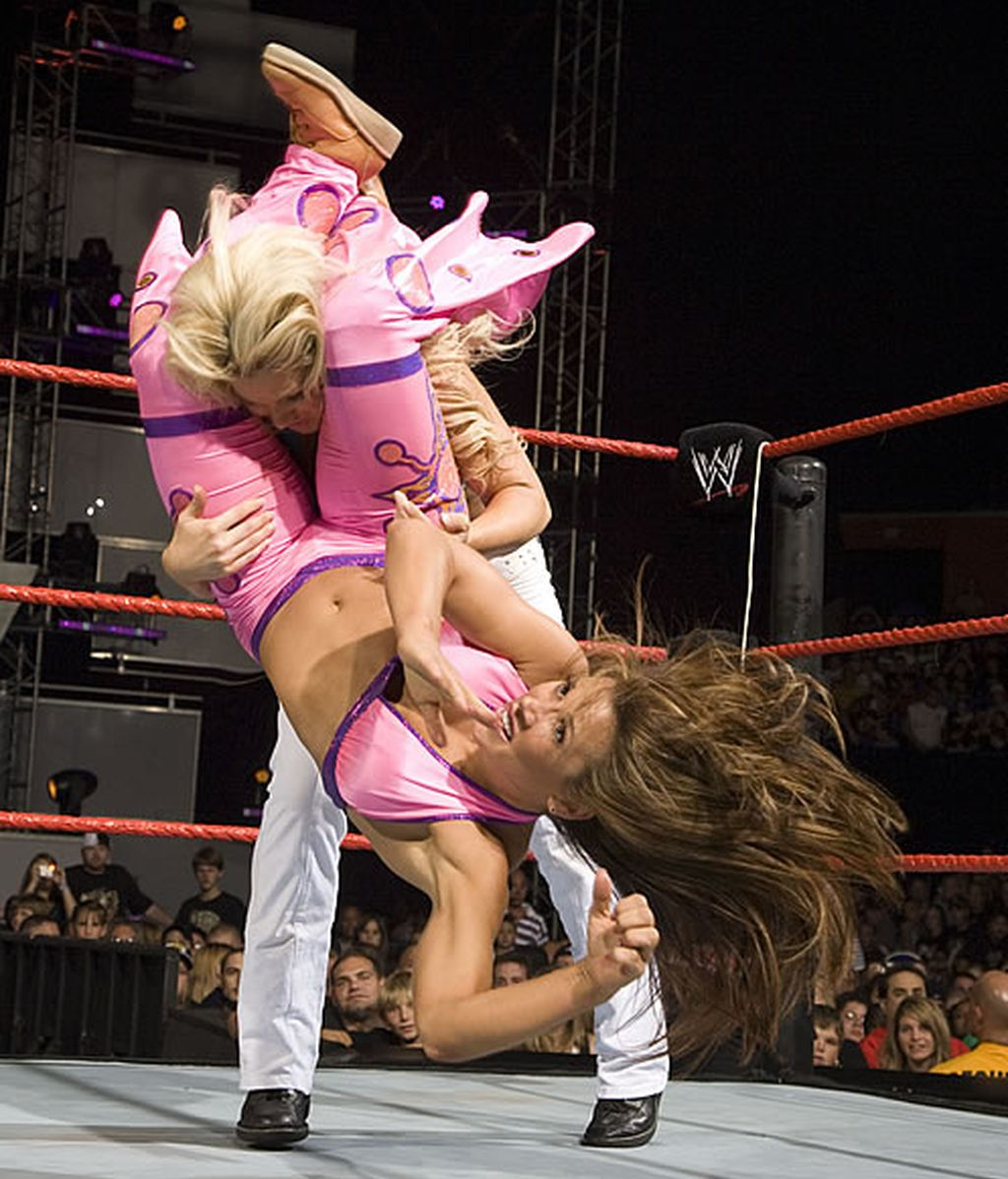 Las divas son espectaculares en el ring